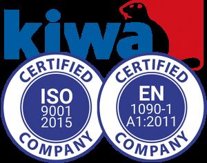 JW Industri certificeringer
