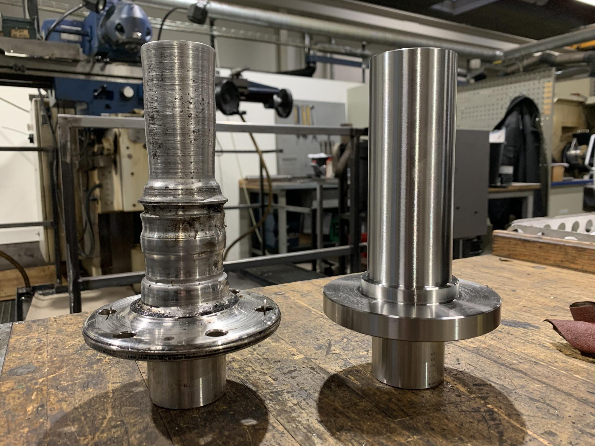 Reservedelsproduktion i metal