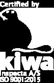 ISO 9001:2015 KIWA JW Industri
